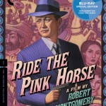 Home Video Hovel: Ride the Pink Horse, by David Bax