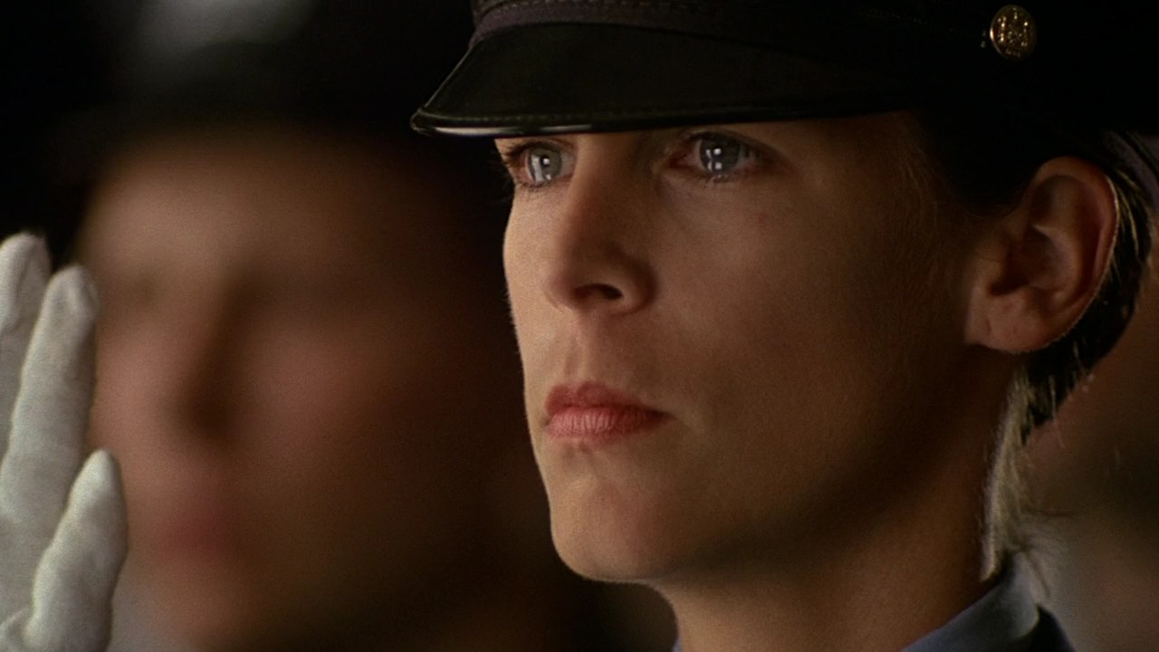 an analysis of the movie blue steel an action thriller Action & adventure  blue steel turns into yet another movie about jamie lee curtis bravely fighting the thriller inadvertently becomes an exercise in.