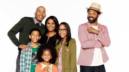 UNCLE BUCK - Pilot Gallery (ABC/Mitchell Haaseth) JAMES LESURE, SAYID SHAHIDI, AALYRAH CALDWELL, NIA LONG, IMAN BENSON, MIKE EPPS
