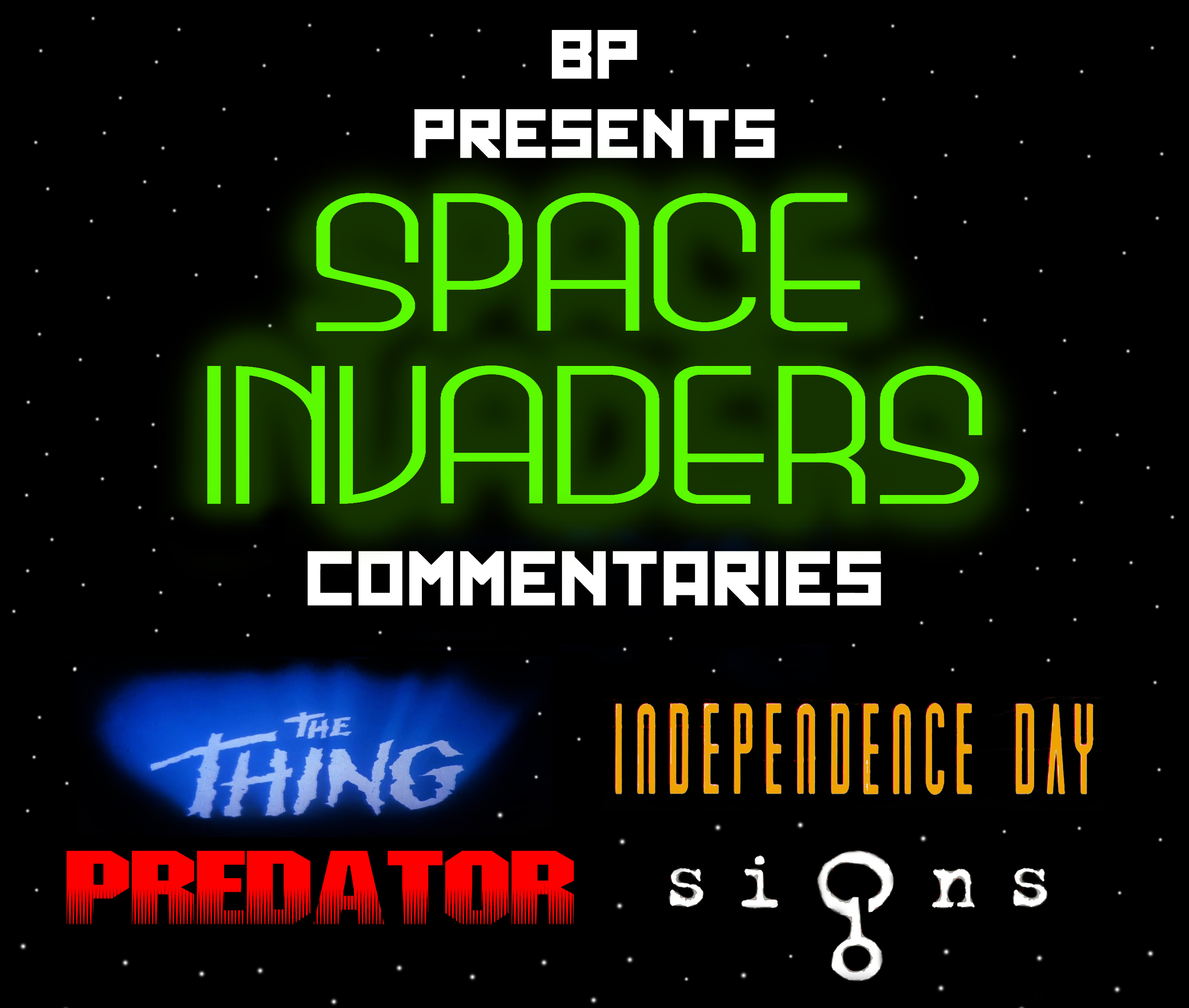 Space invaders commentaries battleship pretension for Space invaders
